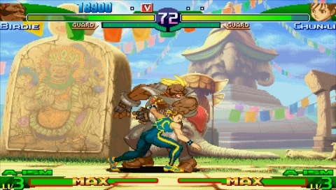 Street Fighter Alpha 3 Max Psp Review The Artist Formerly